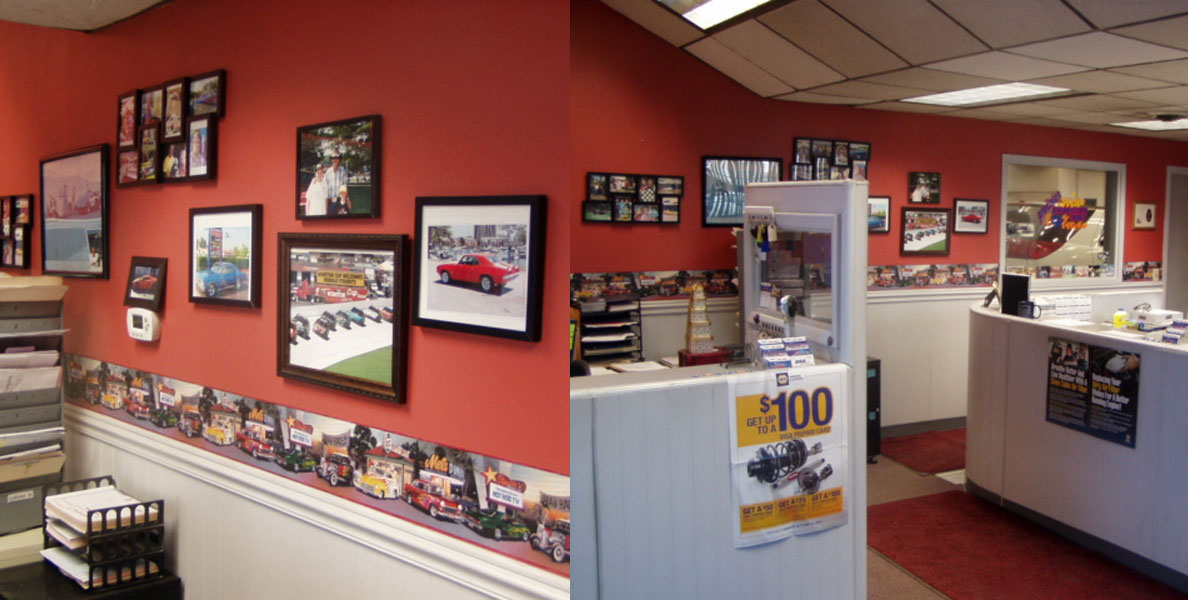 car collision shop